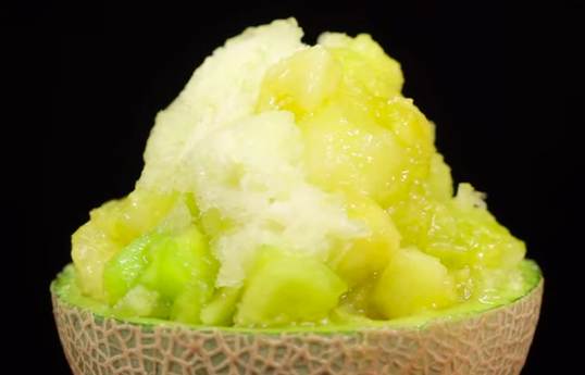 How to Make Melon Kakigori