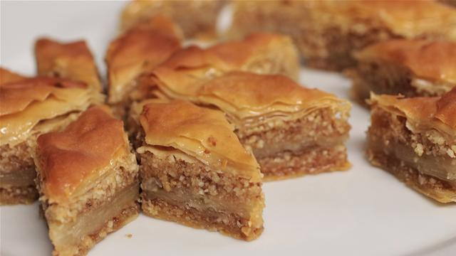 Sweet and Sticky Authentic Baklava Recipe