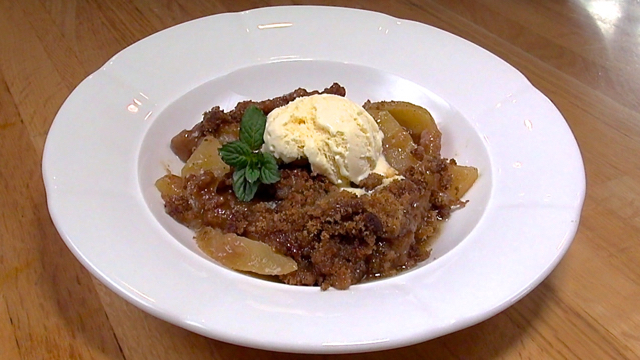 How to Make an Easy Apple Crumble