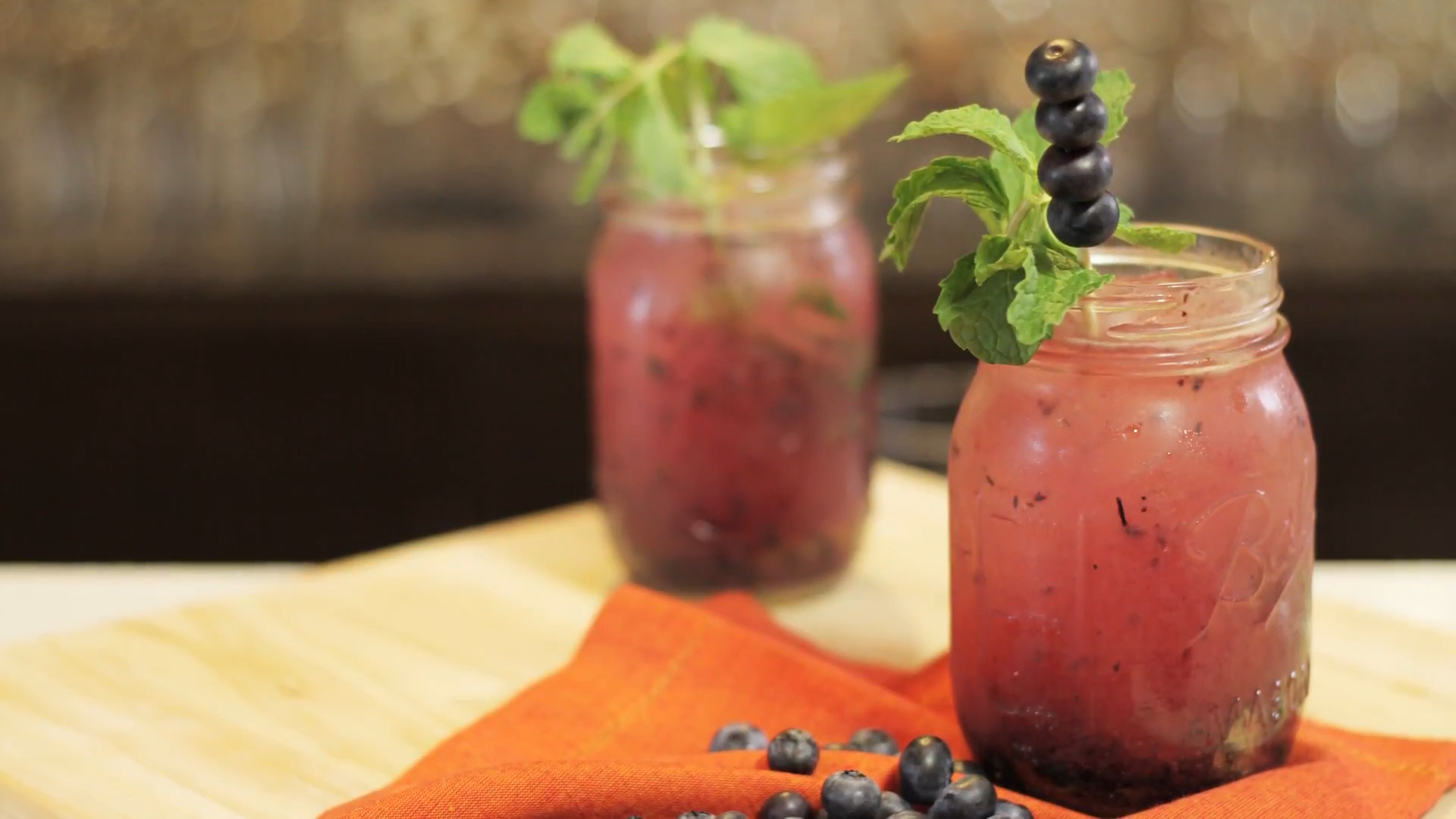 How to Make a Cuban Mojito with Blueberries