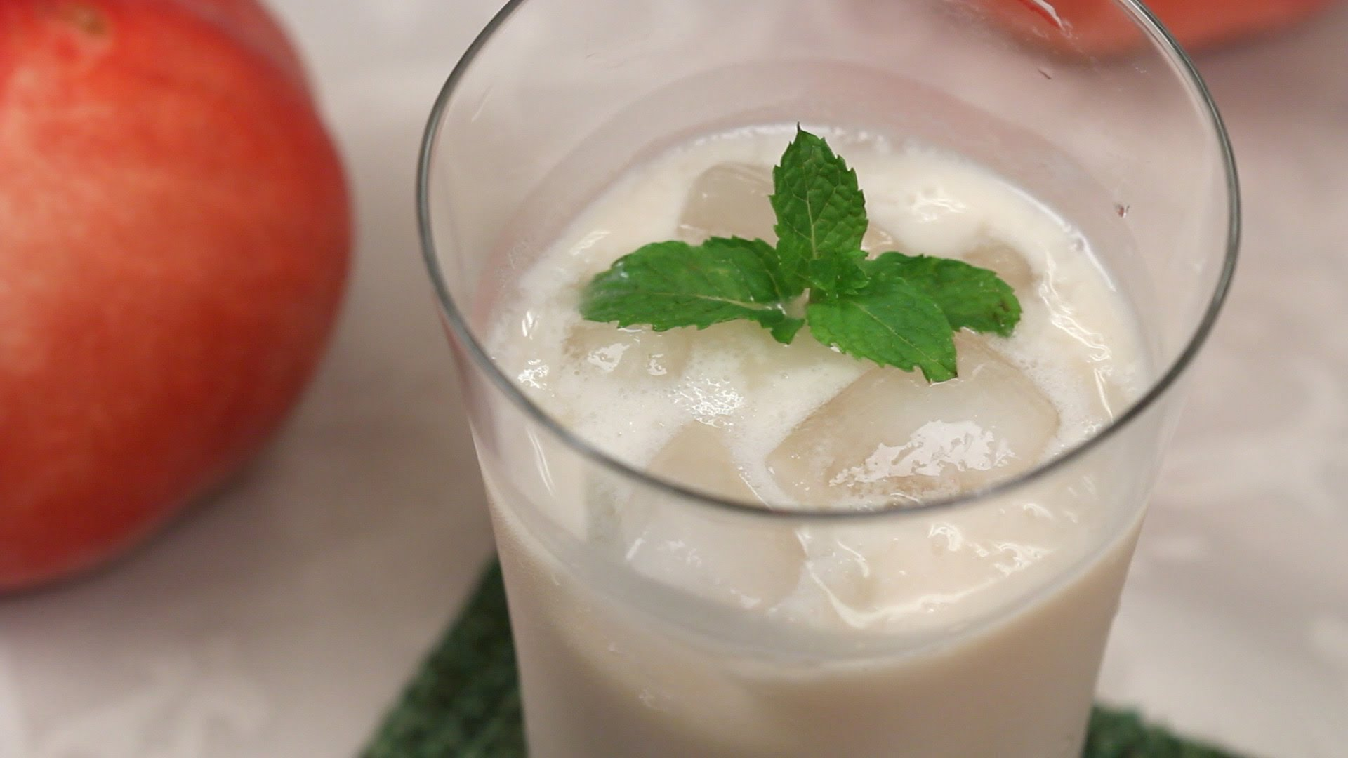 Peach Lassi Recipe