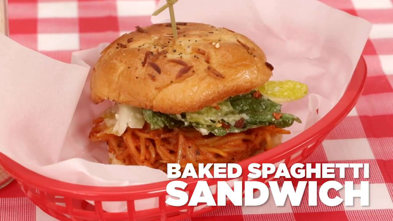 How to Make a Spaghetti Sandwich
