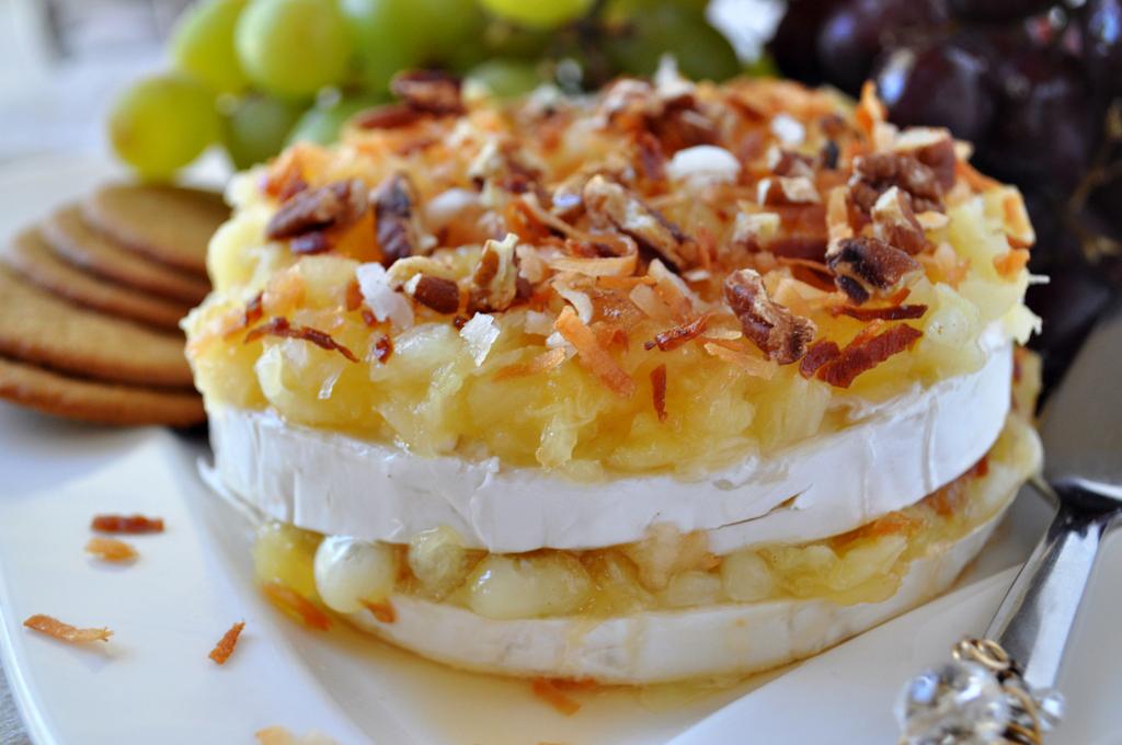 How to Make Pina Colada Brie