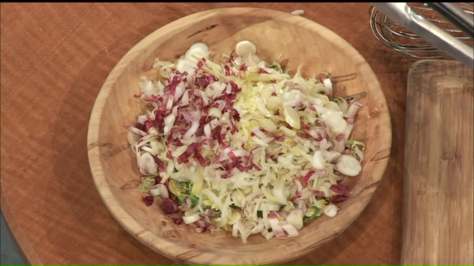 How To Make Shaved Brussels Sprouts And Endive Salad