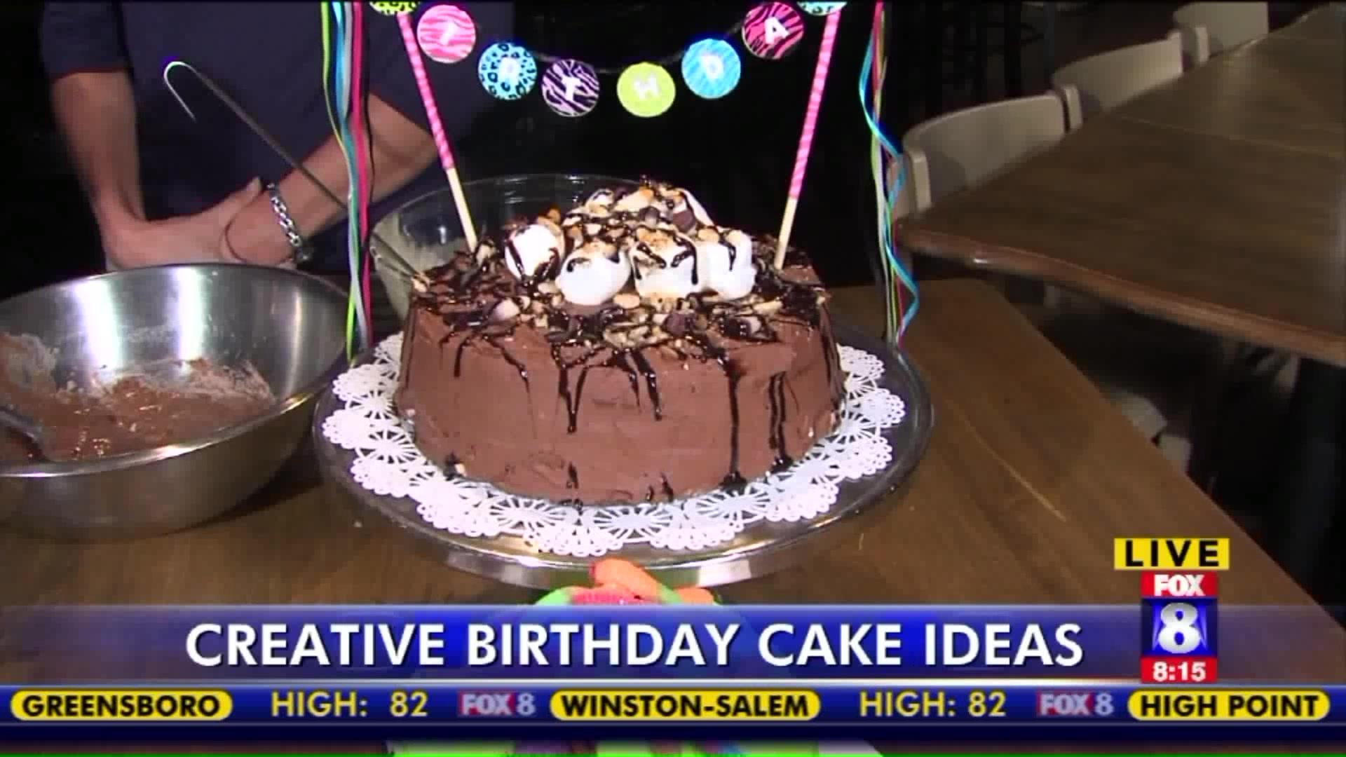 How to Make a S'Mores Cake