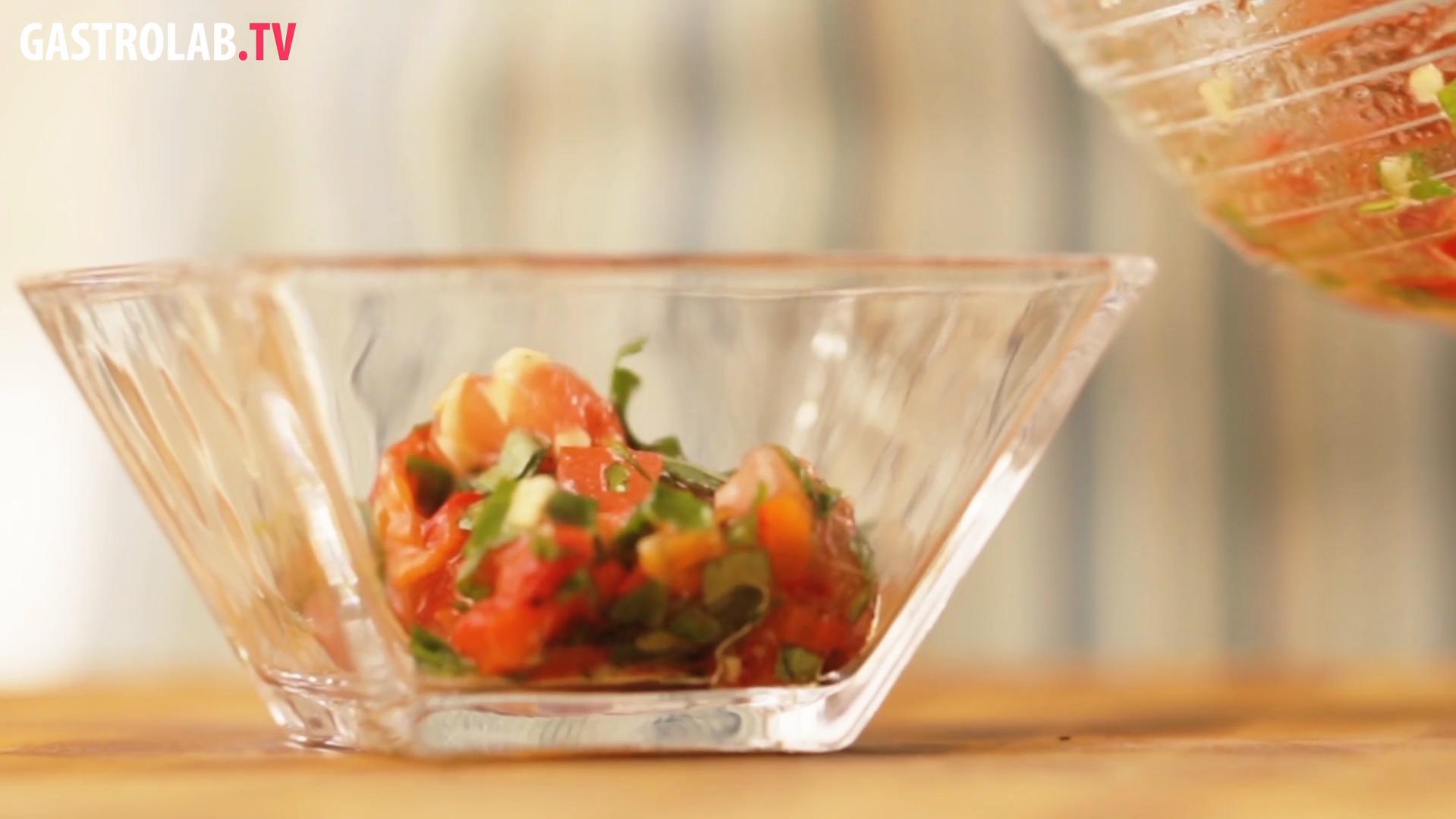 Roasted Pepper and Tomato Salsa Recipe