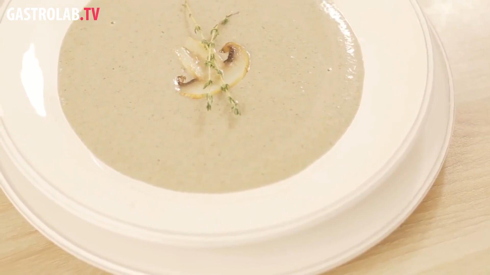 How to Make Cream of Mushroom Soup a La Provence
