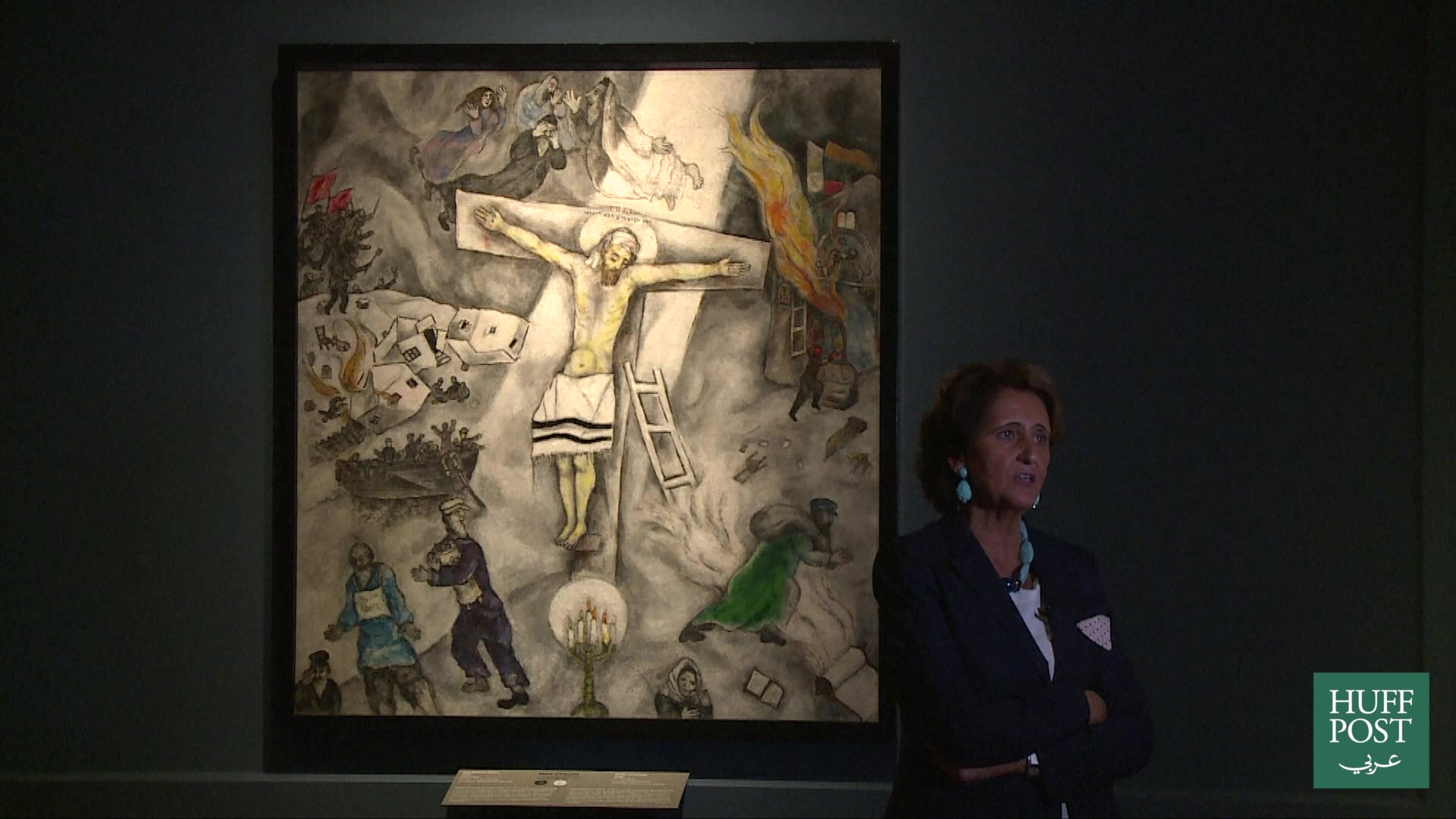 الجمال الالهي معرض يركز على تشجيع البابوات لل�ن الديني