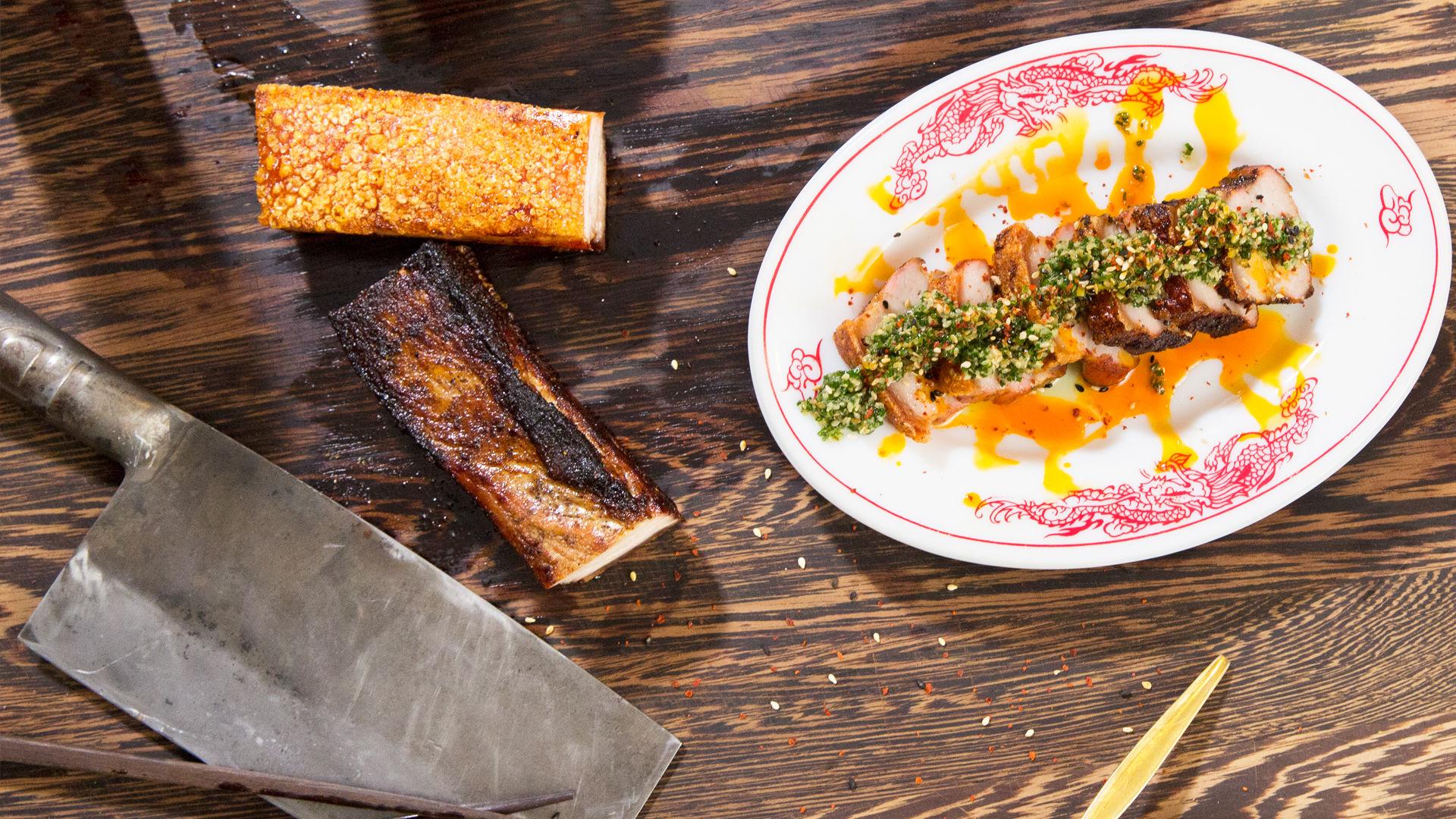 Honey and 5-Spice Asian BBQ Pork Belly Recipe