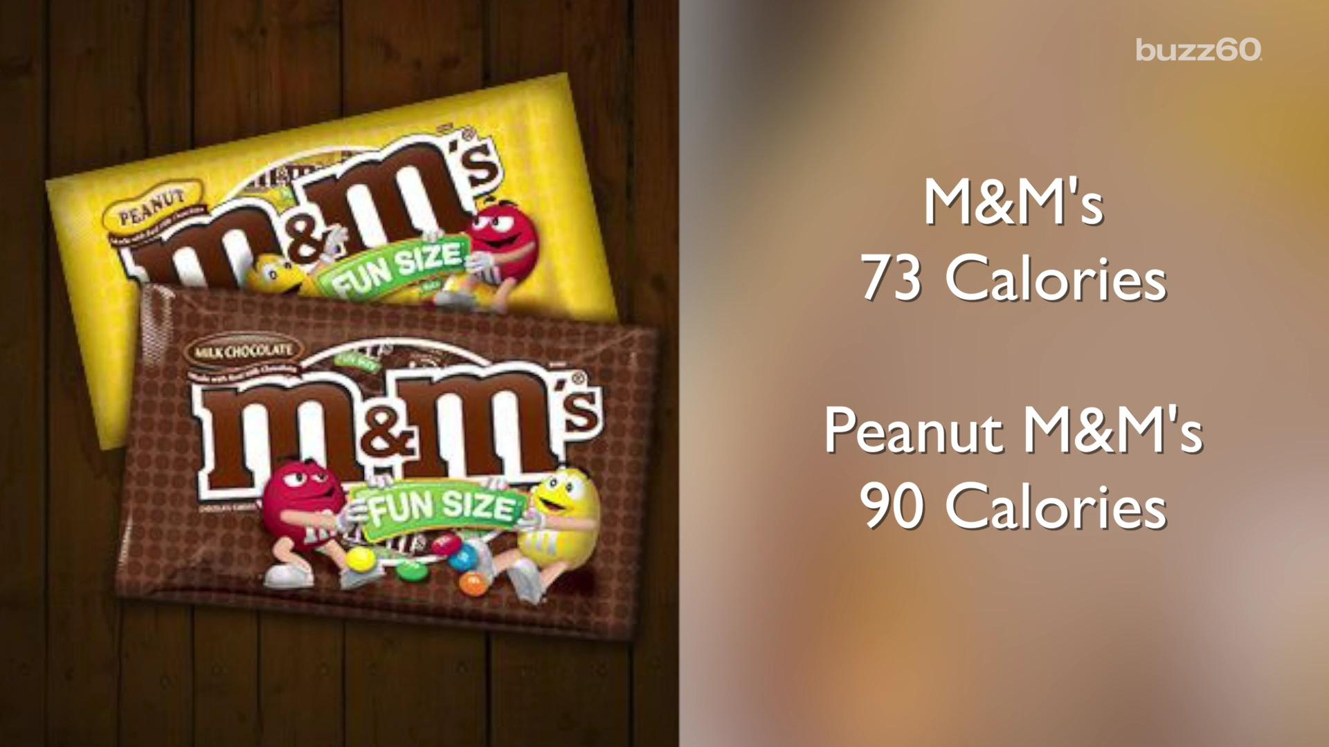 Halloween 'Fun Size' Candy Calorie Counts from Smart to Scary