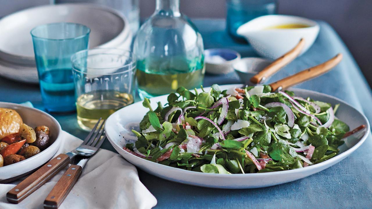 Emeril's Watercress and Celery Salad Recipe