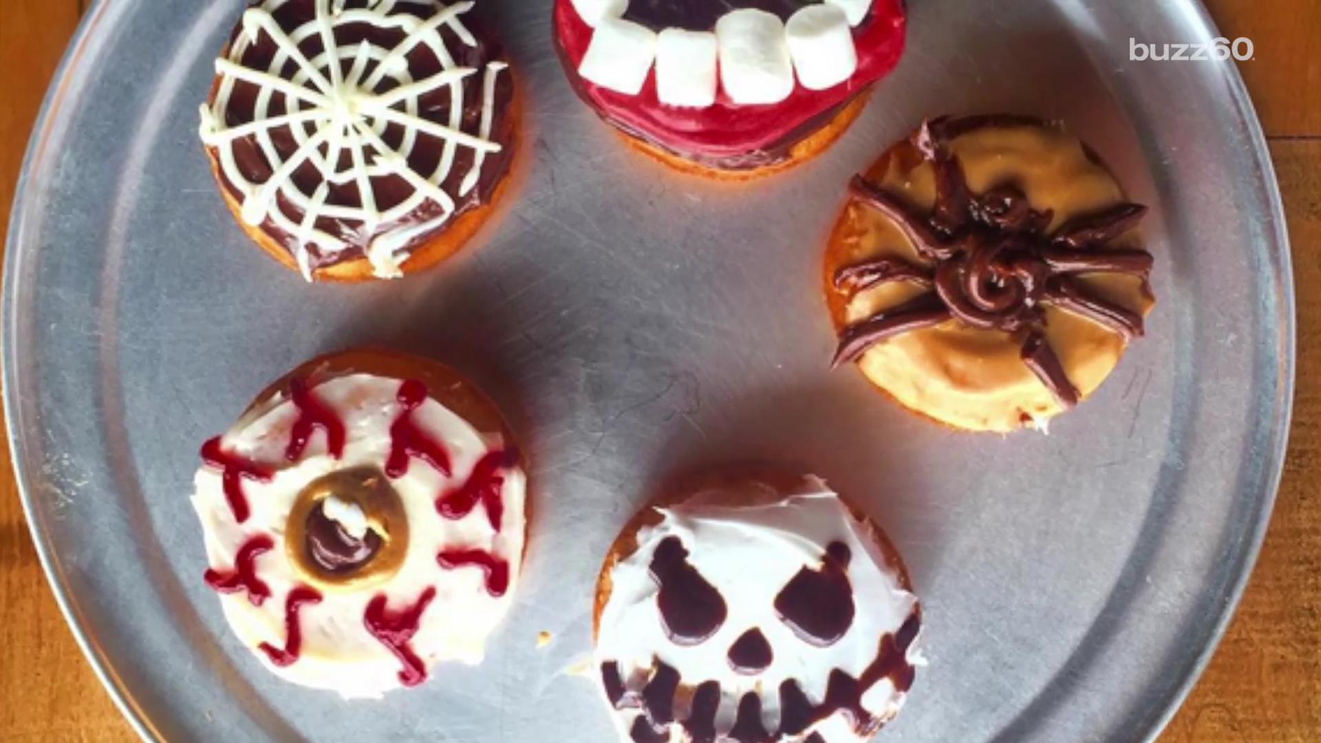 Best Halloween-Themed Doughnuts