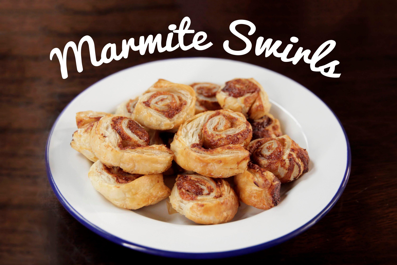 Tasty Marmite Swirls Recipe