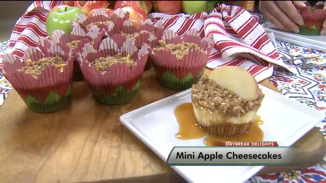How to Make Mini Apple Cheesecakes