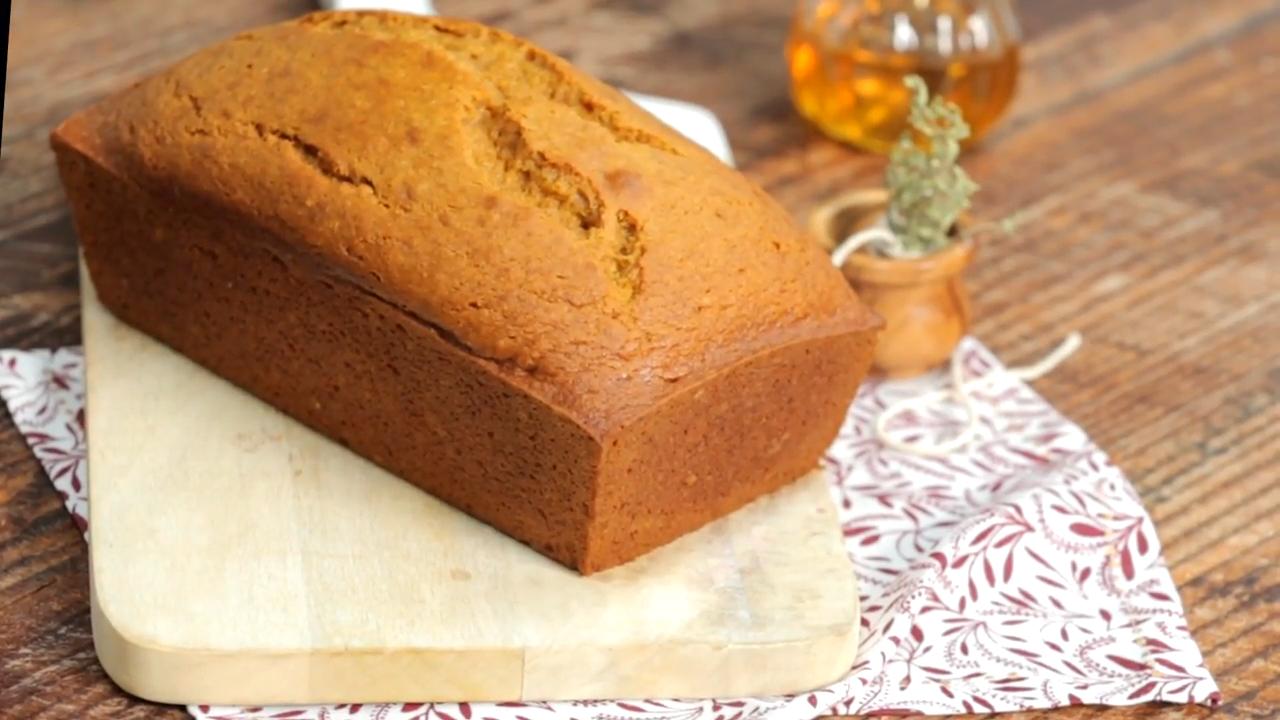 Pumpkin-Honey Beer Quick Bread