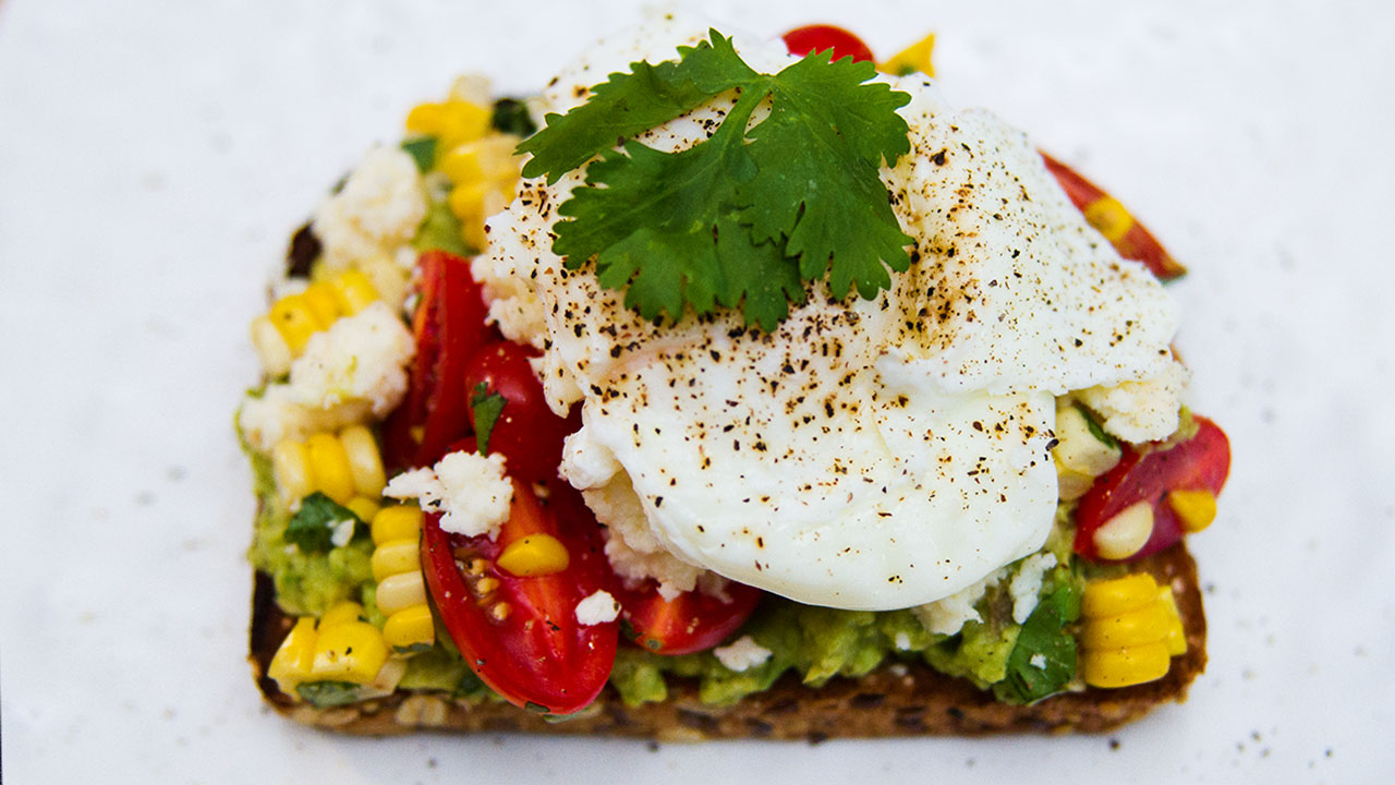 Truffle Avocado Toast With Poached Egg, The Easy Power Breakfast