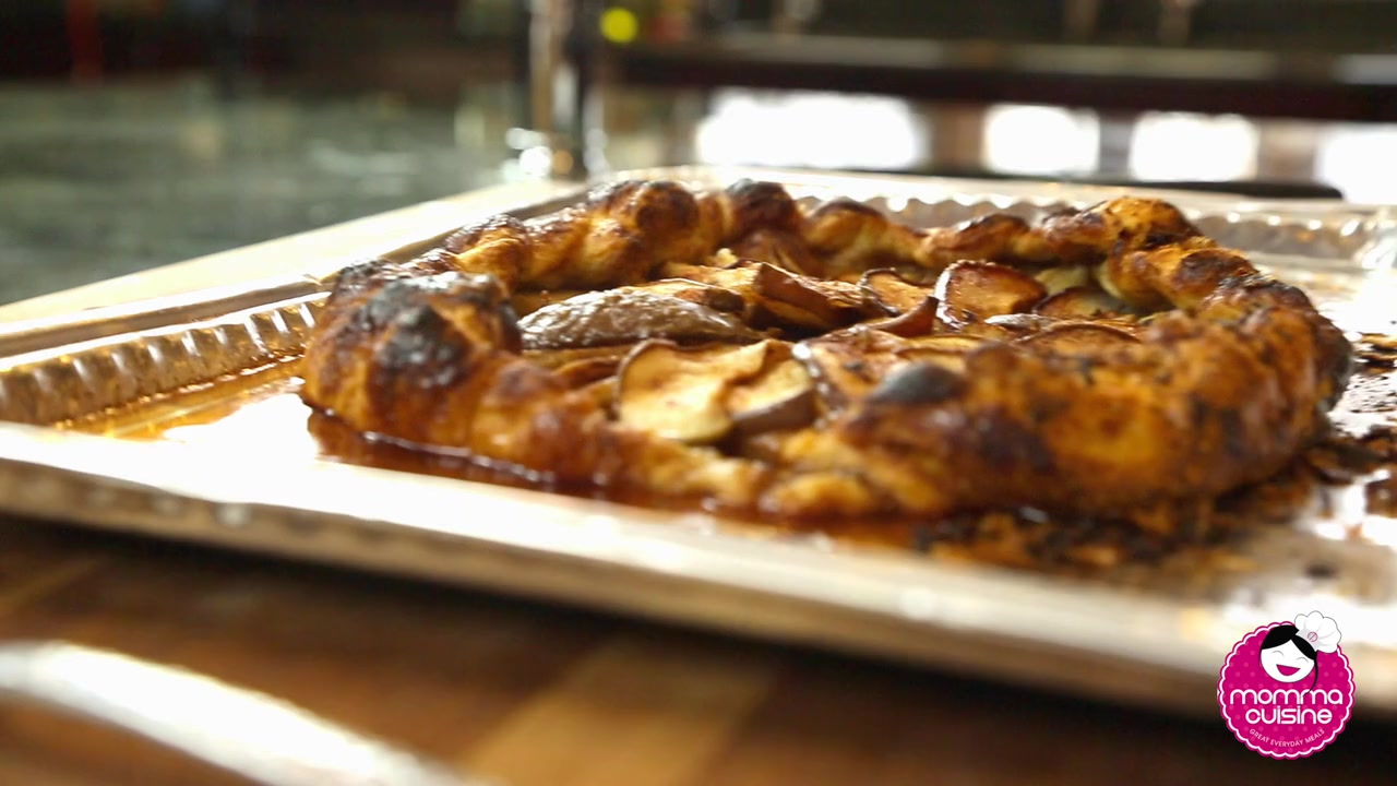 Momma Cuisine - Rustic Pear Galette