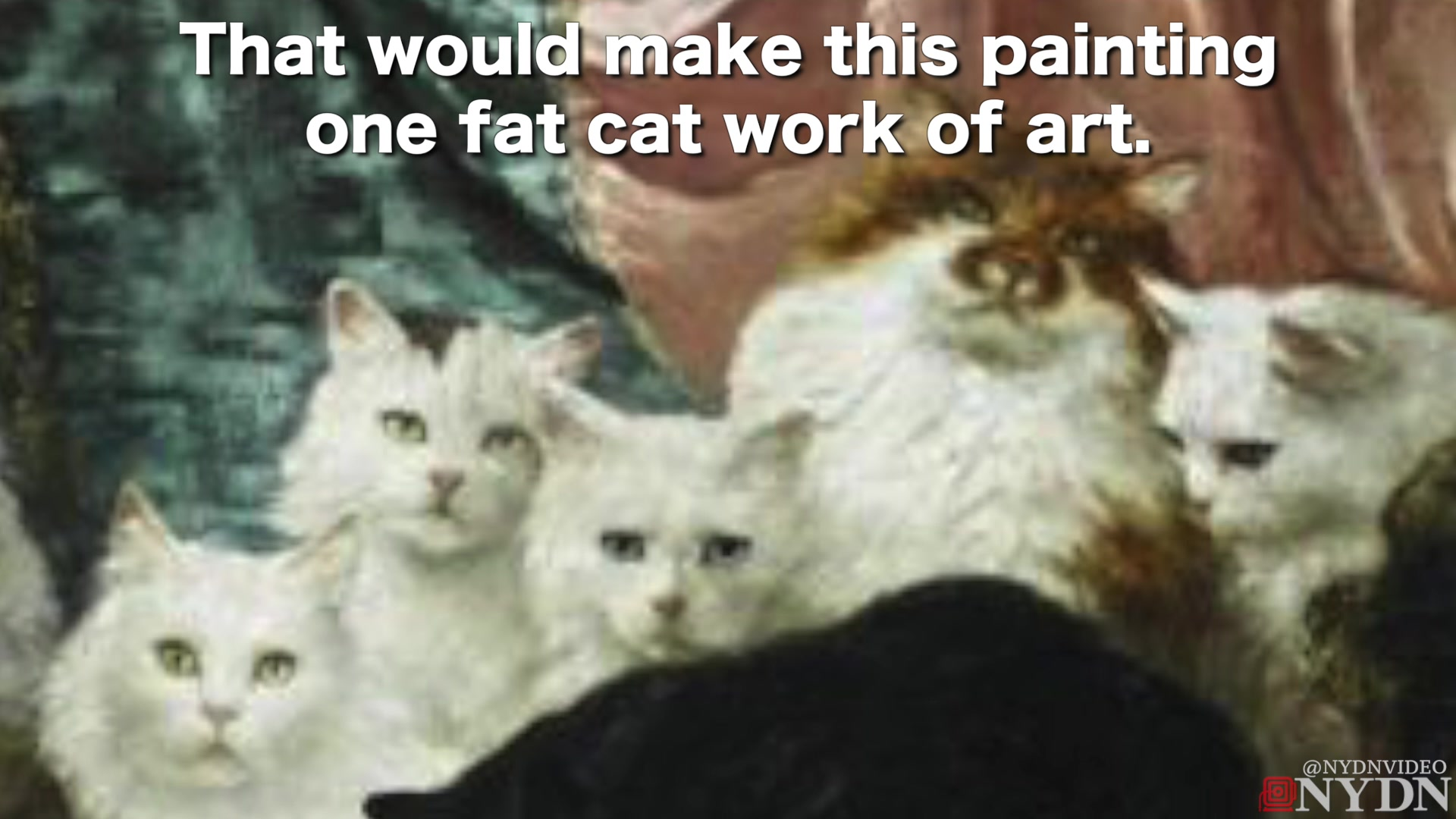 Massive Cat Painting Sells for Nearly $1 Million