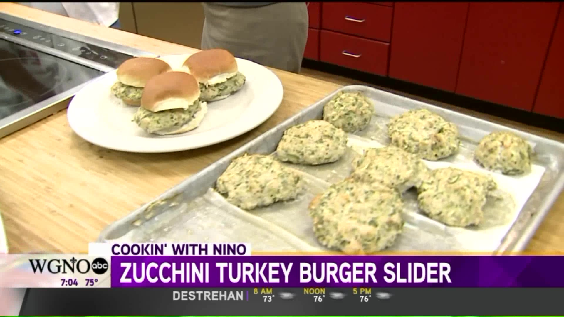 How to Make Turkey & Zucchini Sliders