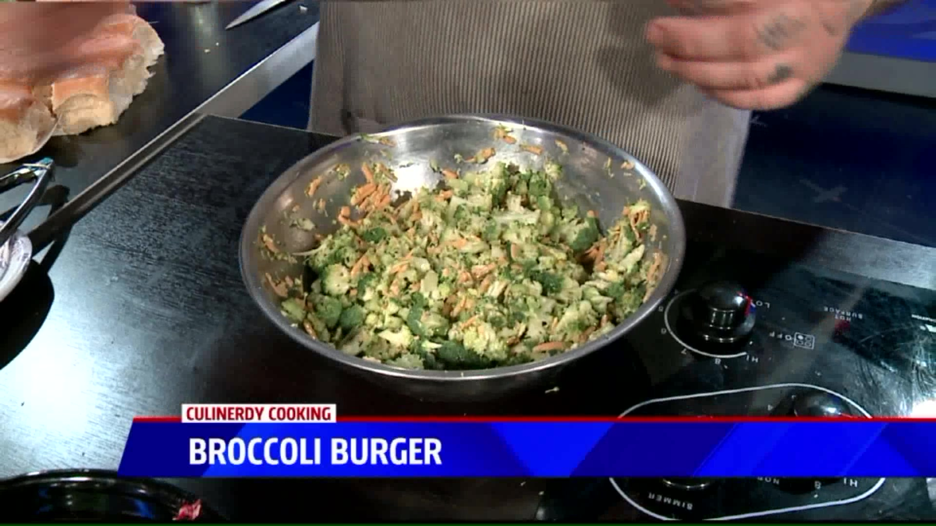 How To Make A Broccoli Burger