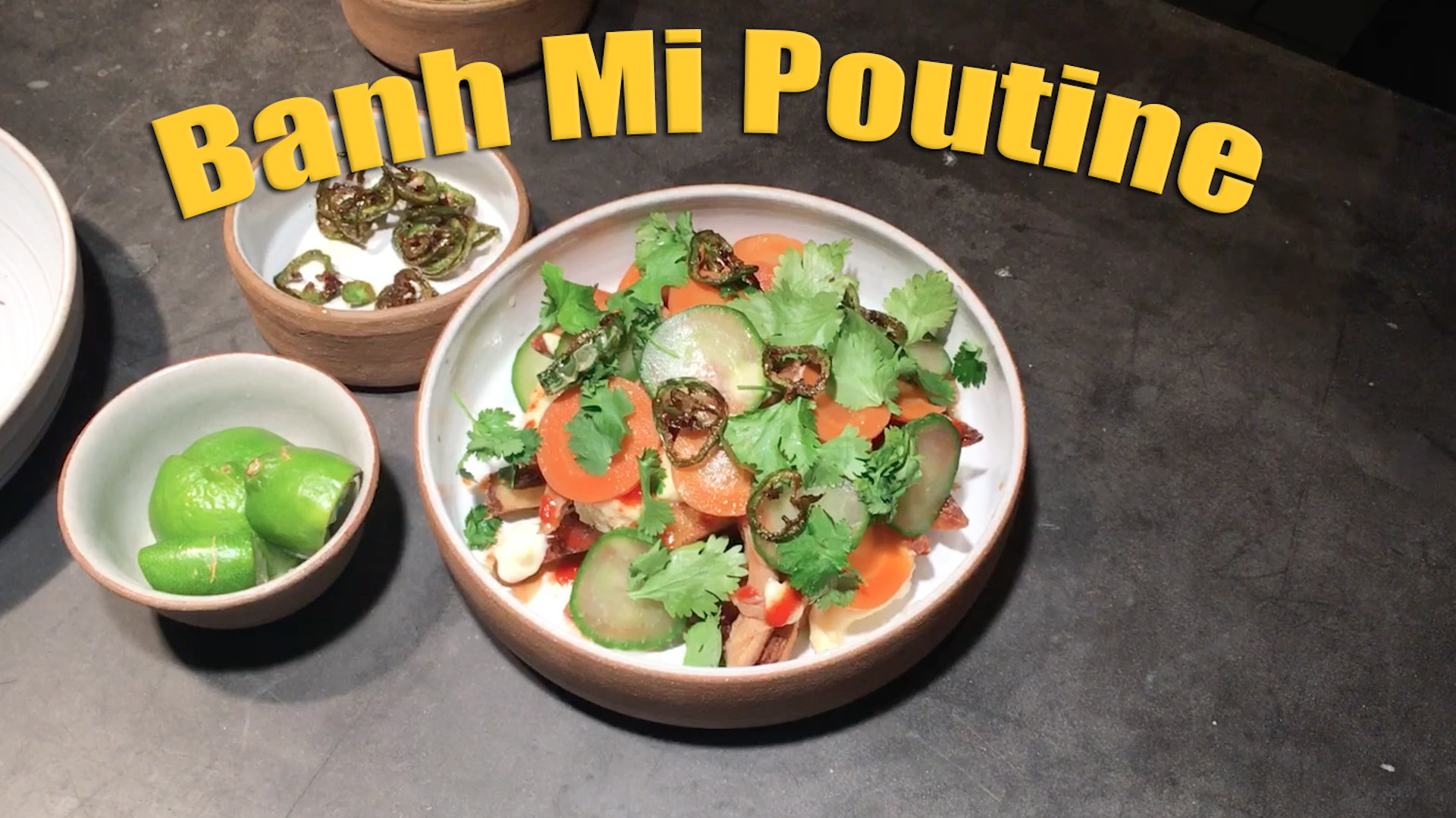 Mustard Minute: 'Knife Fight' Host Ilan Hall Cooks Banh Mi Poutine