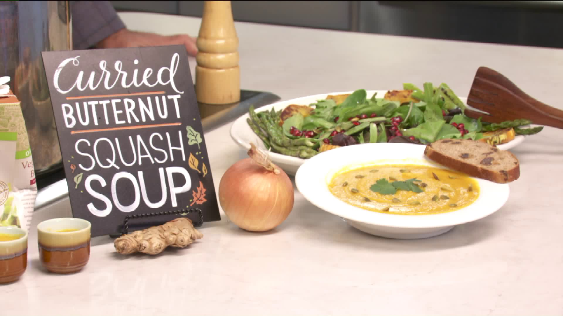 How To Make Curried Butternut Squash Soup