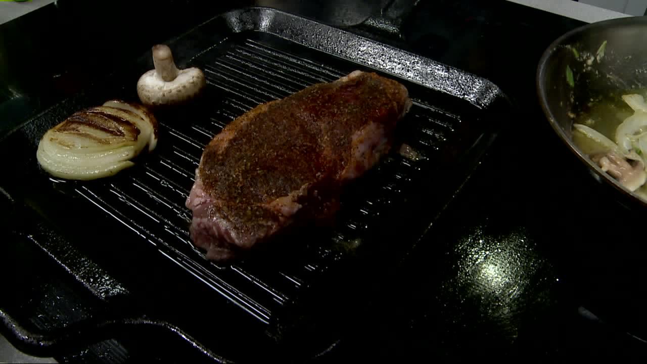 How To Make a Drunken New York Strip Steak