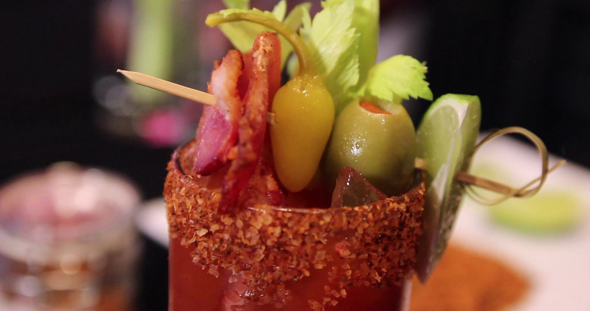 Extra Bacony Bacon Bloody Mary By Chef Uno