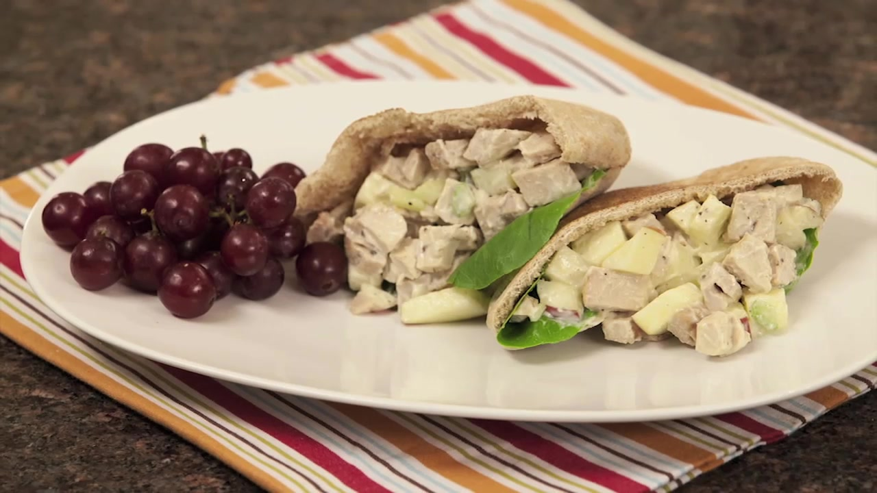 Healthy Apple Chicken Salad Recipe