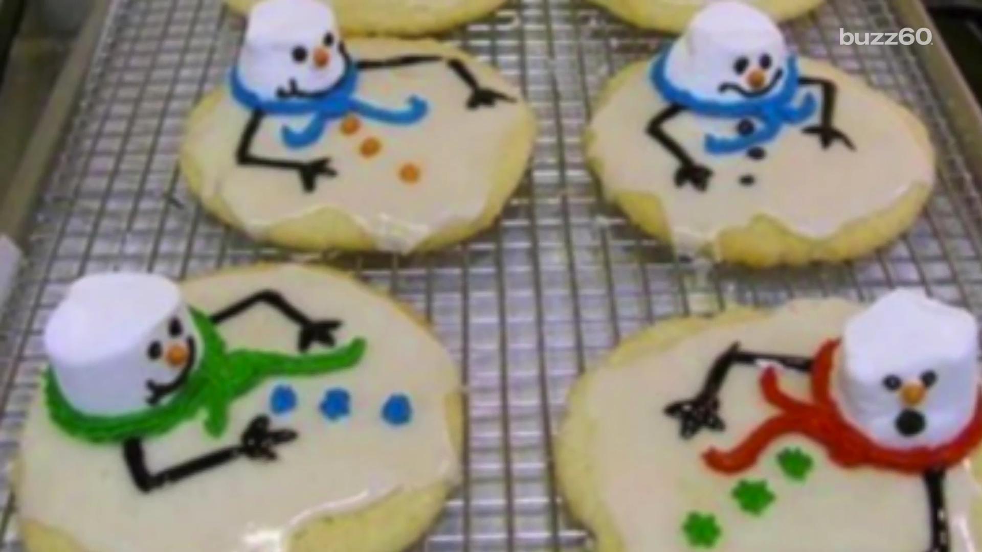 Festive Sugar Cookies for the Holiday Season