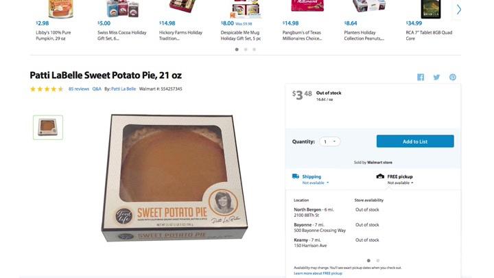 GrubStreet Tries the Patti LaBelle Sweet Potato Pie