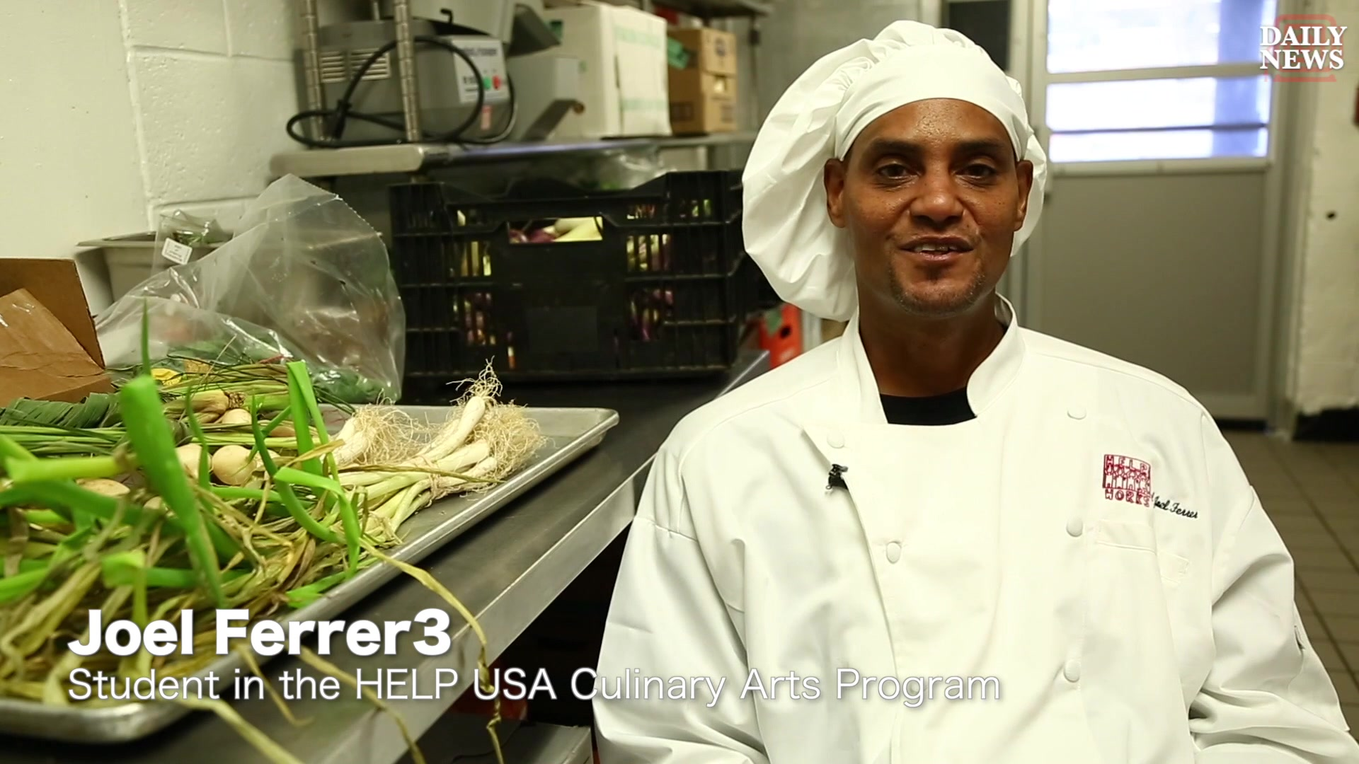 Culinary Arts Training Program Helps Homeless Cook Thanksgiving Meal