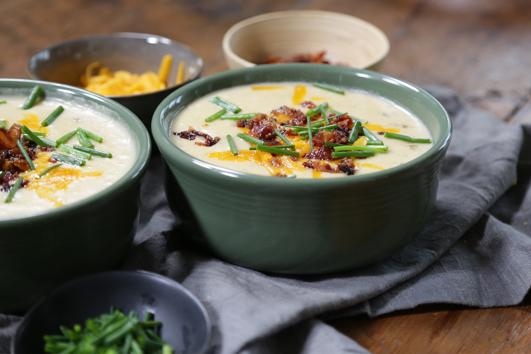 How to Make a Creamy Potato Soup from Leftover Mashed Potatoes