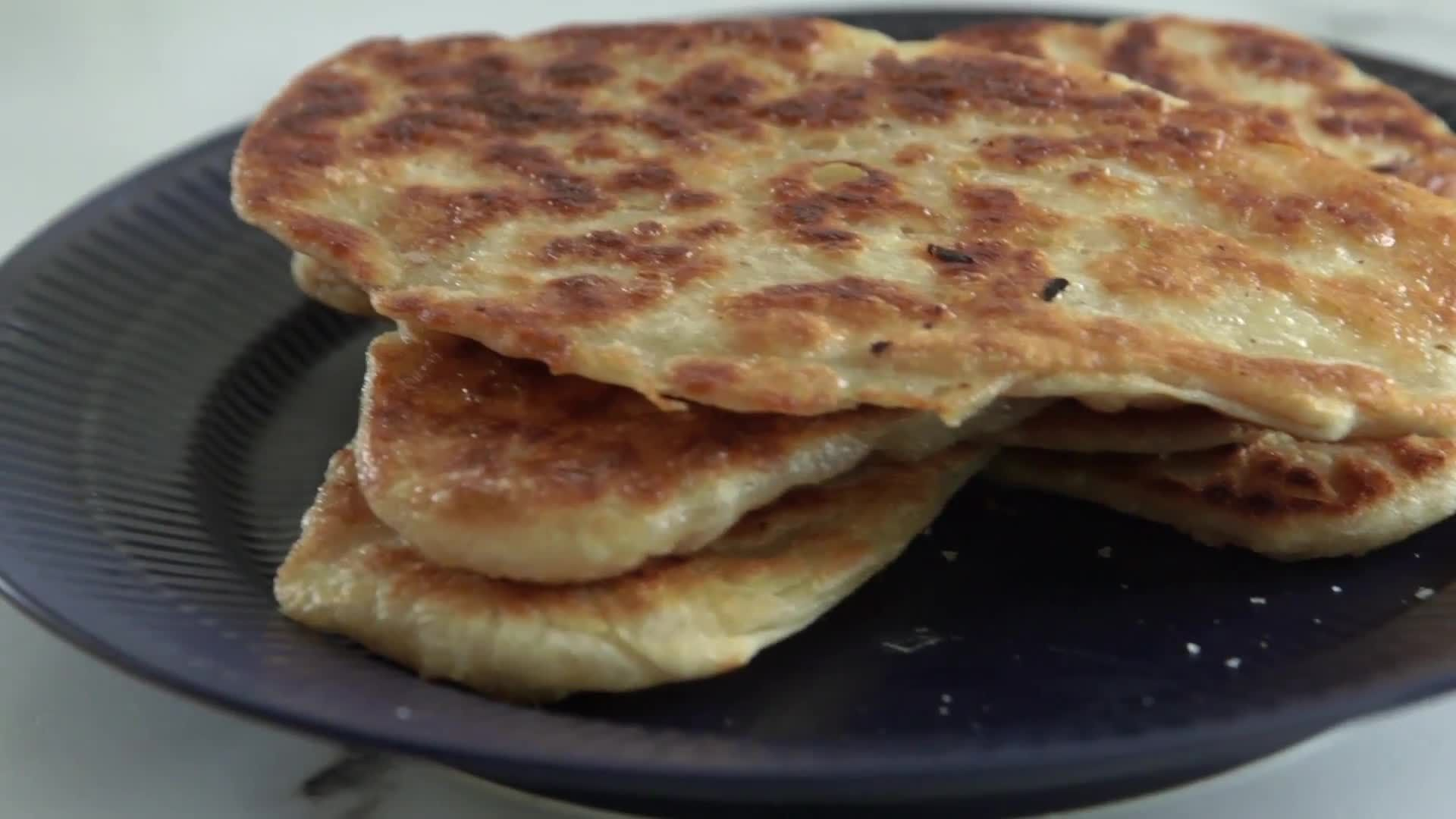 How to Make 3-Ingredient Flaky Flatbread