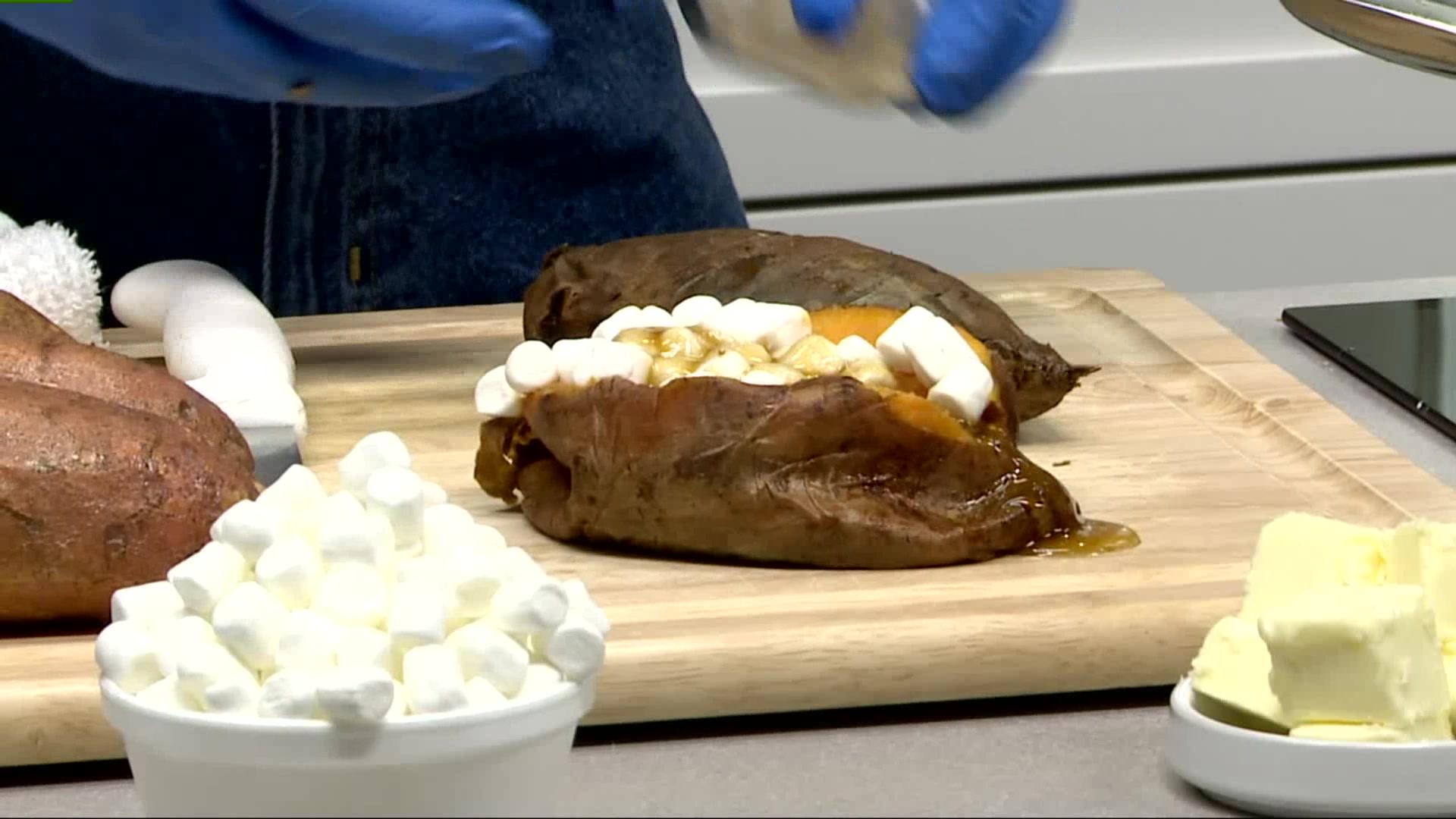 How To Make Stuffed Sweet Potatoes