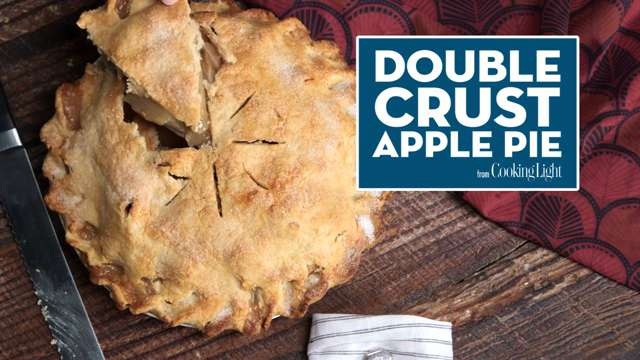 How to Make a Double Crust Apple Pie