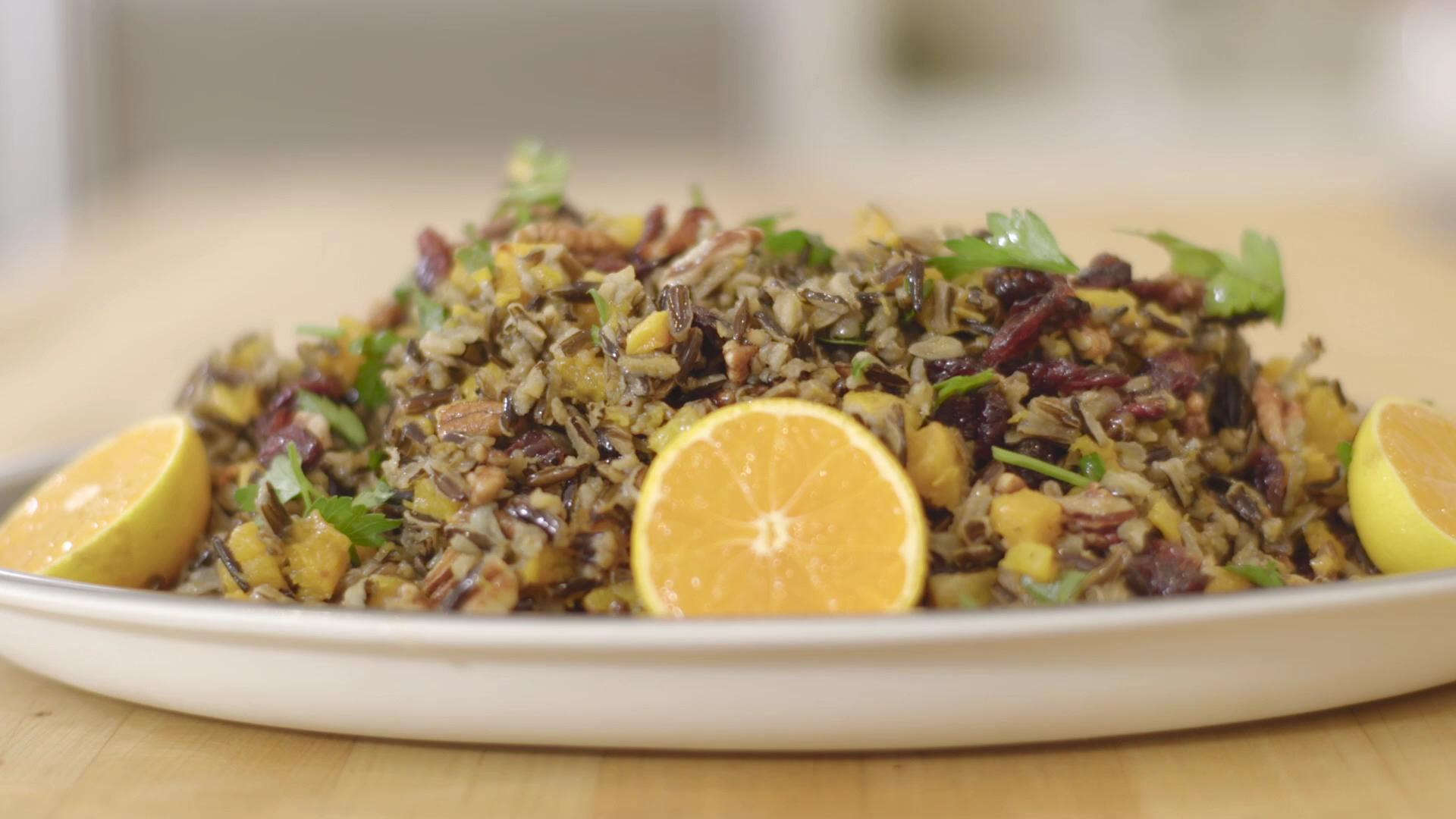 How to Make a Wild Rice Holiday Side Dish