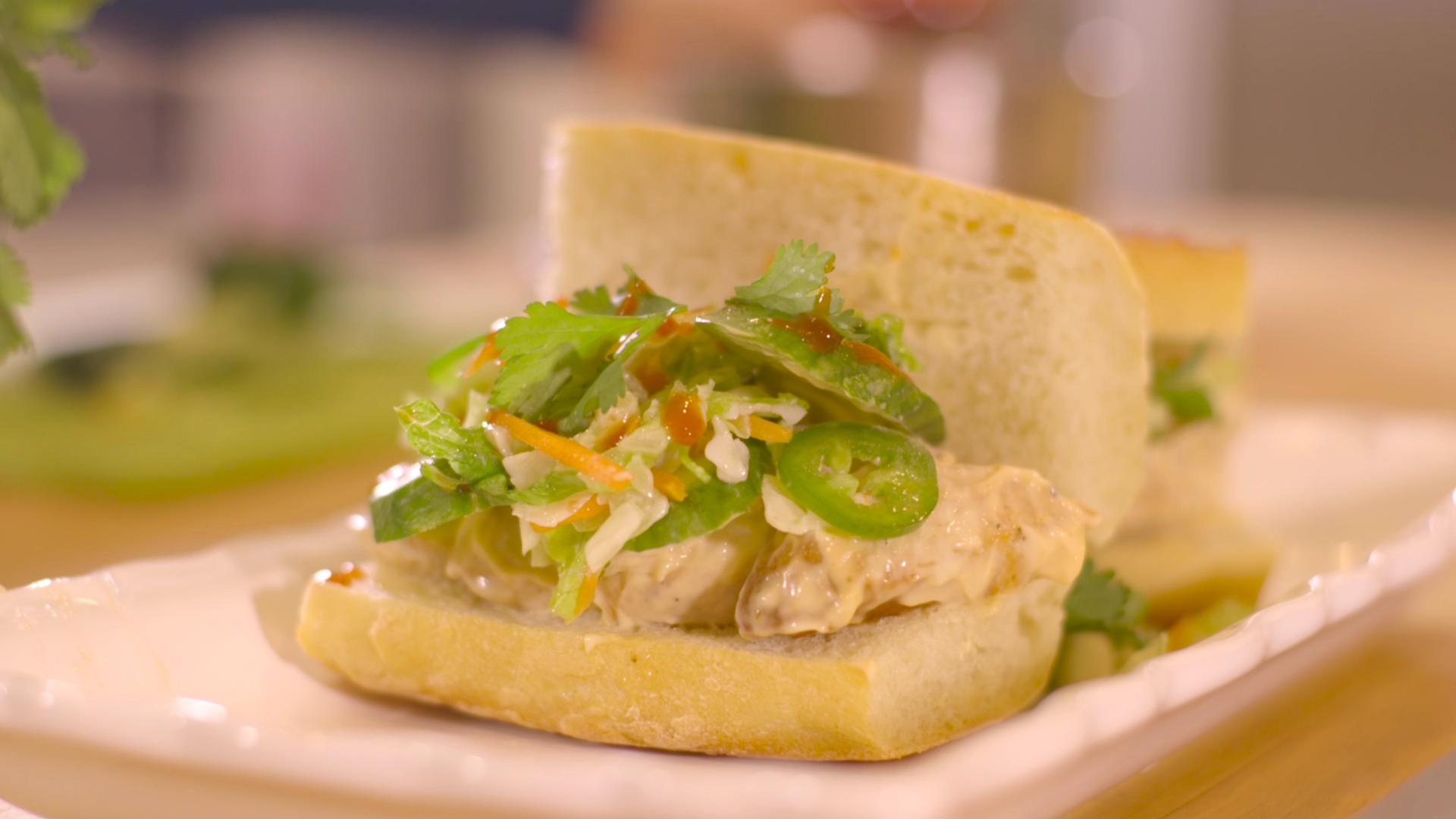 Bahn Mi Leftover Roasted Turkey Sandwich Recipe