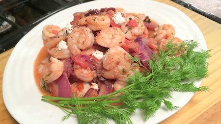 How to Make Mediterranean Shrimp