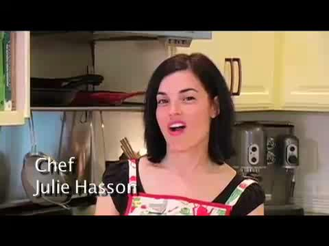 How to make Julie's Whole Grain Blueberry Orange Pancakes