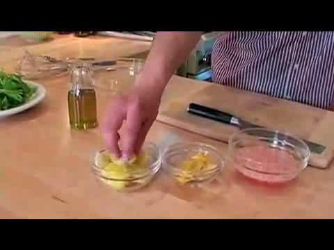 How to make Preserved Lemon Vinaigrette