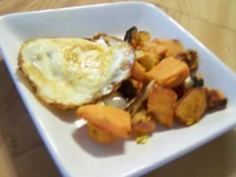 Low Carb Recipe for Sweet Potato Hash