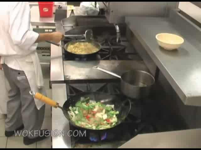 Stir Fry Food Technique - Chinese Culinary Chicago