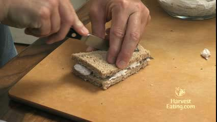 How to Make Chicken Salad Finger Sandwich