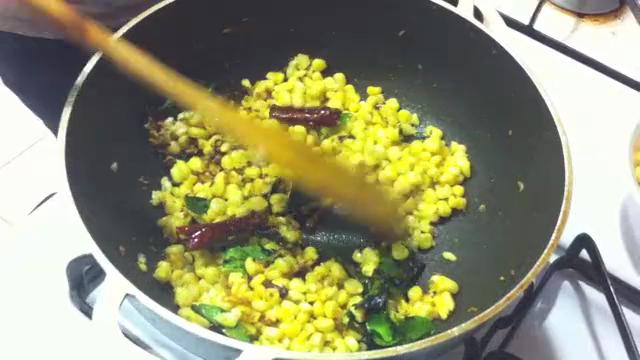Indian Corn Rice Recipe