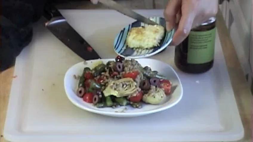 Warm Mediterranean Salad Recipe