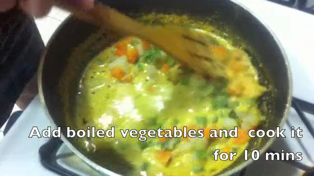 How to Make Coconut Curry with Veggies