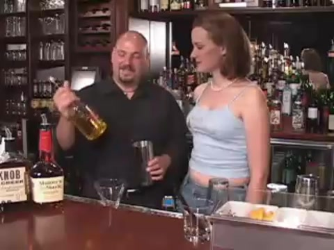 Thanksgiving Vanilla Martini Cocktail Recipe