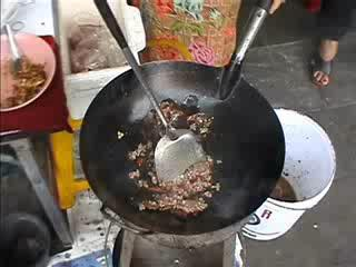 Pad kapow - pork with basil