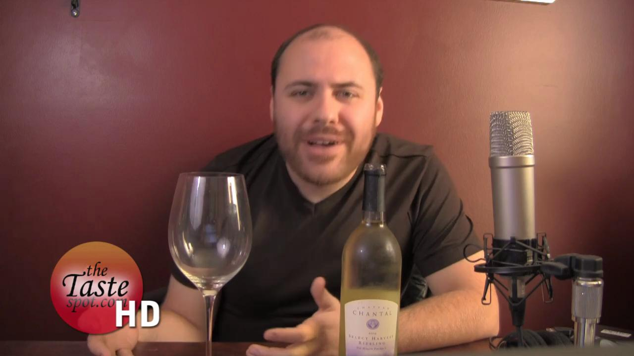Chateau Chantal Select Harvest Riesling 09 Review